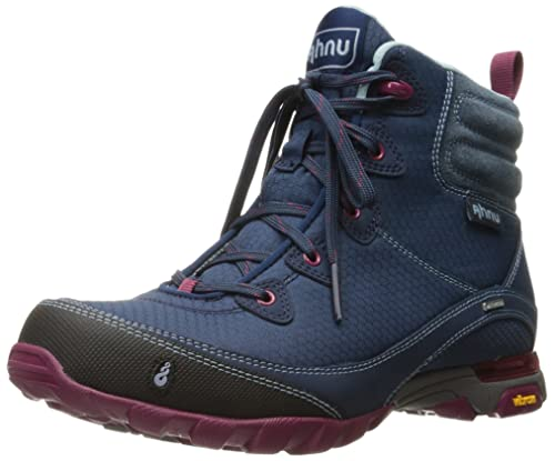 Ahnu Women's Sugarpine Boot WP Blue Spell ...