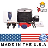 Extreme Dog Fence Second Generation -2018- In-Ground Electric Dog Fence Easy Installation D.I.Y. Kit - Feature Rich Transmitter - Unlimited Dogs - Extended Area Coverage - Waterproof Collars