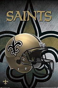 Trends International New Orleans Saints Helmet Wall Poster 22.375