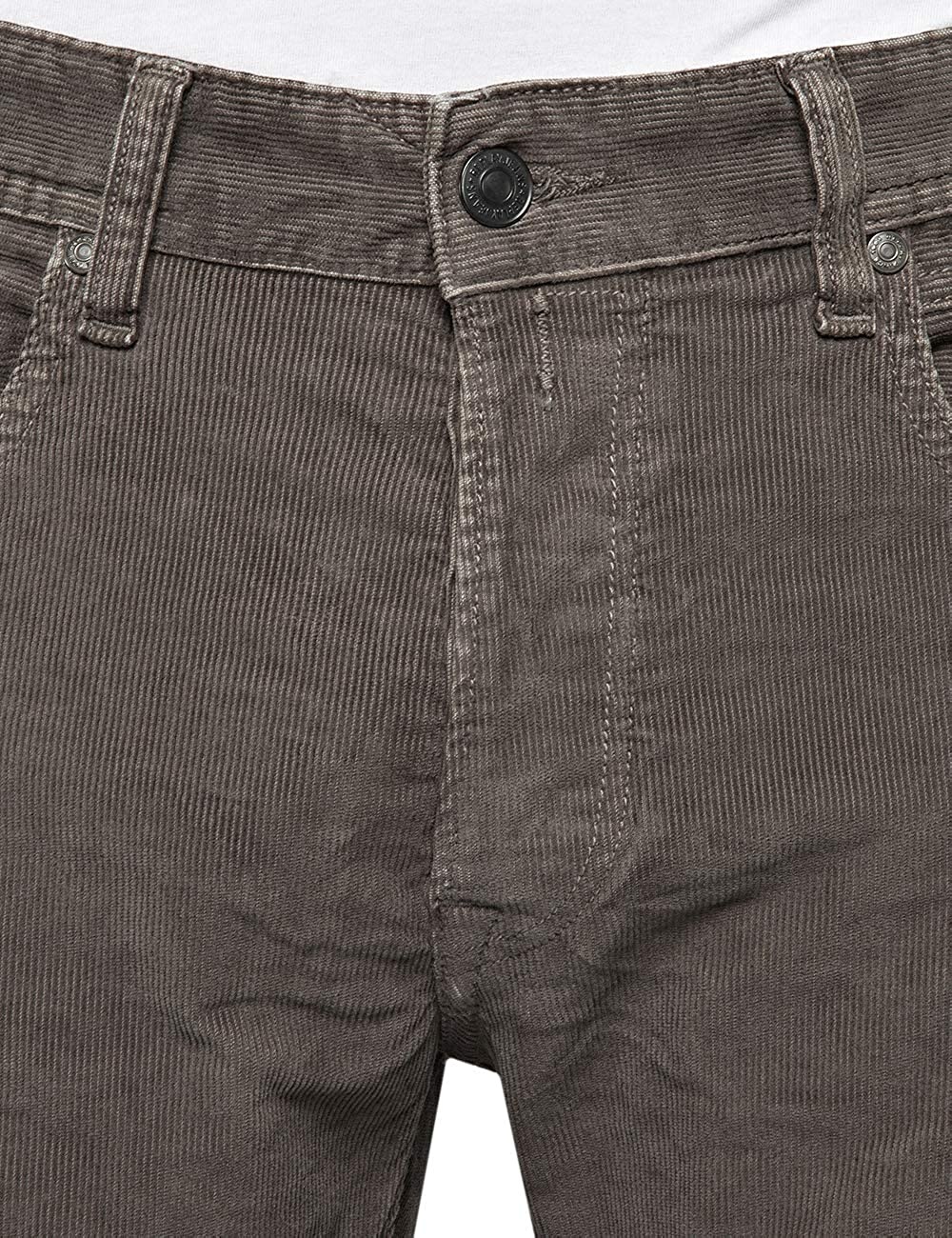 Replay Men's Grover Straight Jeans (Dark Mud 120)