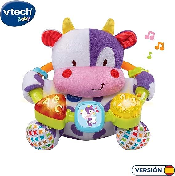 VTech- Vaca muusical Peluche Interactivo de Bebe con Suaves ...
