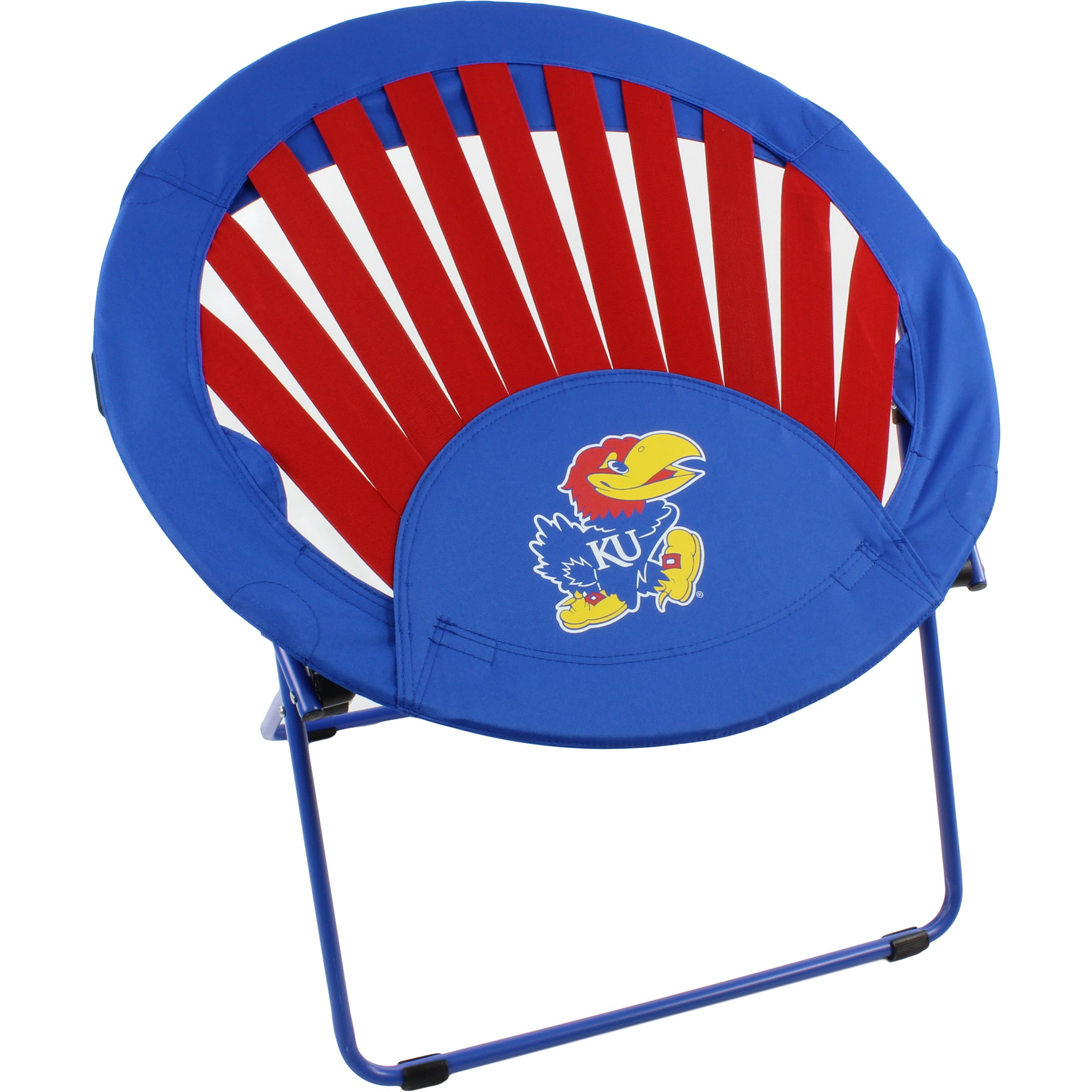 College Covers Kansas Jayhawks NCAA Rising Sun Bungee Chair by College Covers