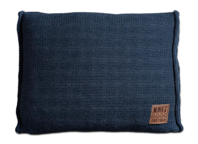 Knit Factory Factory Factory 131312 Dekokissen Strickkissen Uni mit Füllung, 60 x 40 cm, beige B00JE7RWYC Zierkissen 23df3e