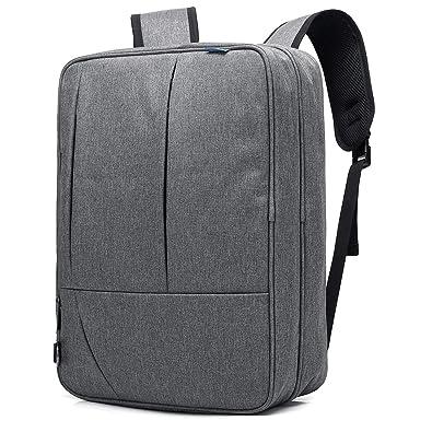e350337832 Amazon.co.jp: AKAUMA 3WAY リュック ビジネスバッグ ショルダー PCバッグ 手さげ 通学 通勤 A4 おしゃれ 14インチ レディース  メンズ 人気 出張 学生 大容量: ...