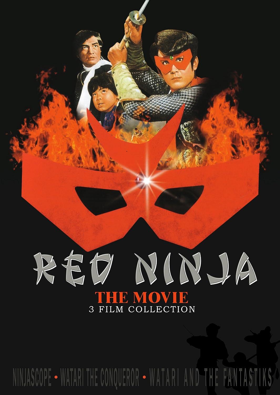 Amazon.com: Red Ninja 3 Film Set: Yoshinobu Kaneko, Various ...