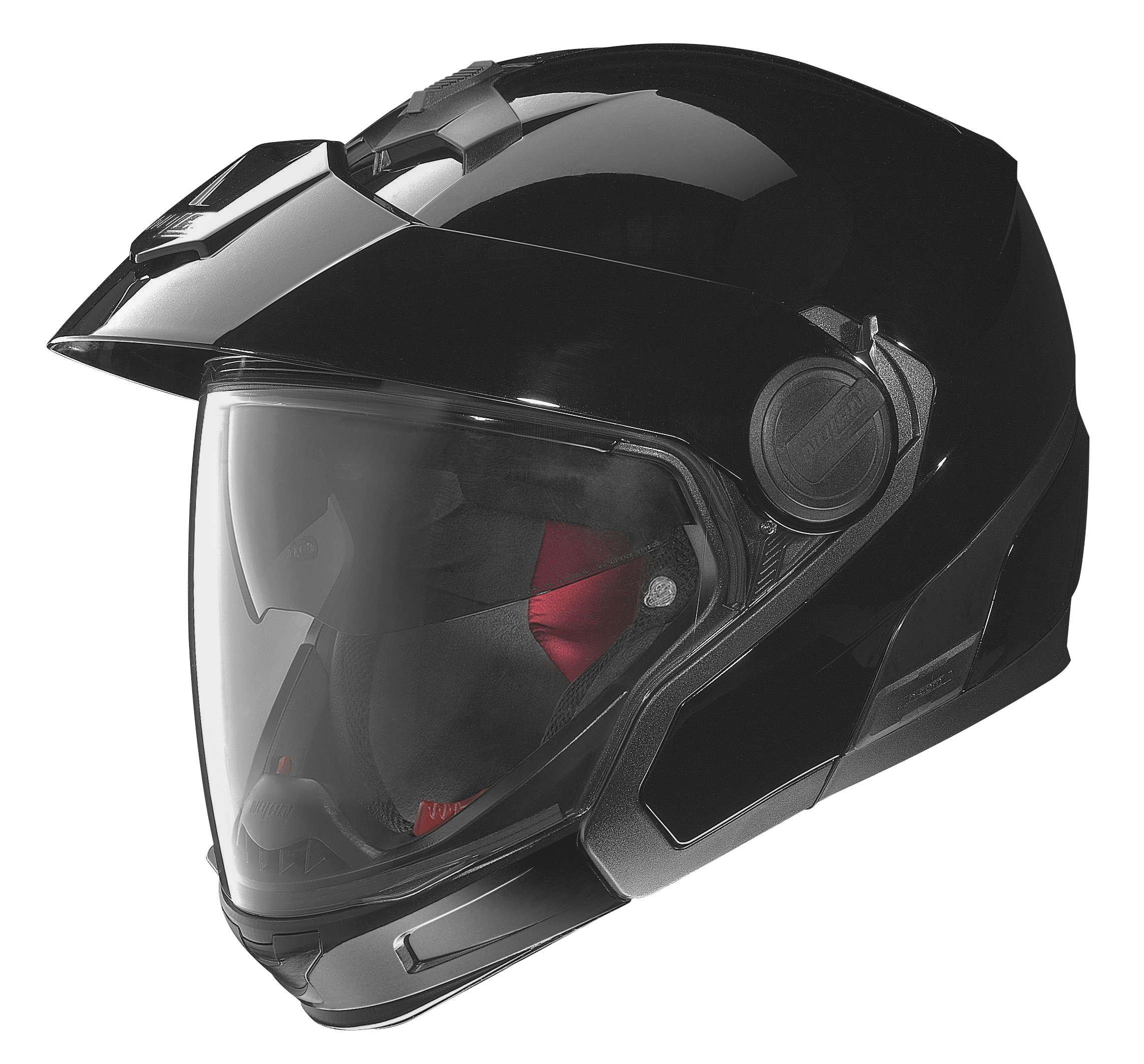 Nolan N40 Full MCS 2 Gloss Black Modular Helmet, L