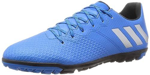 a51ea97b2da5 adidas Messi 16.3 Tf, Men's Football Boots, Blue (Shock Blue/matte Silver