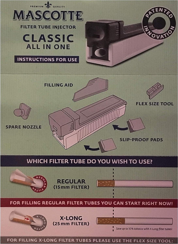 Mascotte Filter Tube Injector: Amazon.es: Salud y cuidado personal