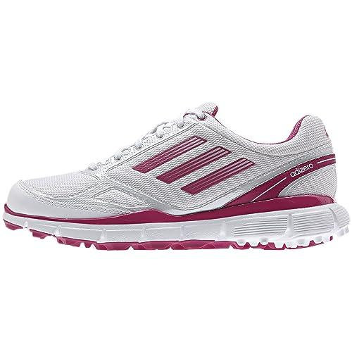 Da donna Adidas Adizero Sport Scarpe da golf Spikeless, donna, Sport, Running White