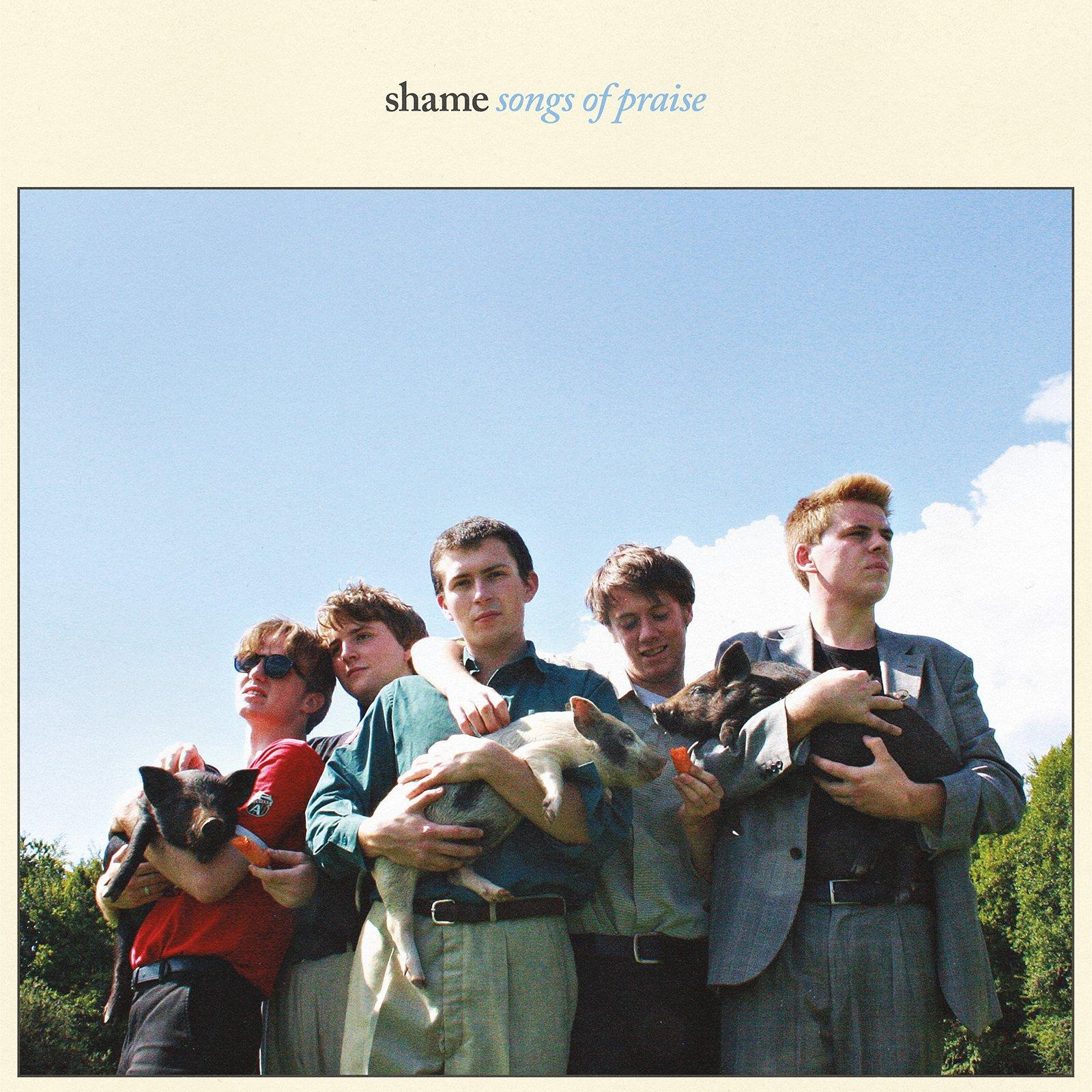 CD : The Shame - Songs Of Praise (CD)