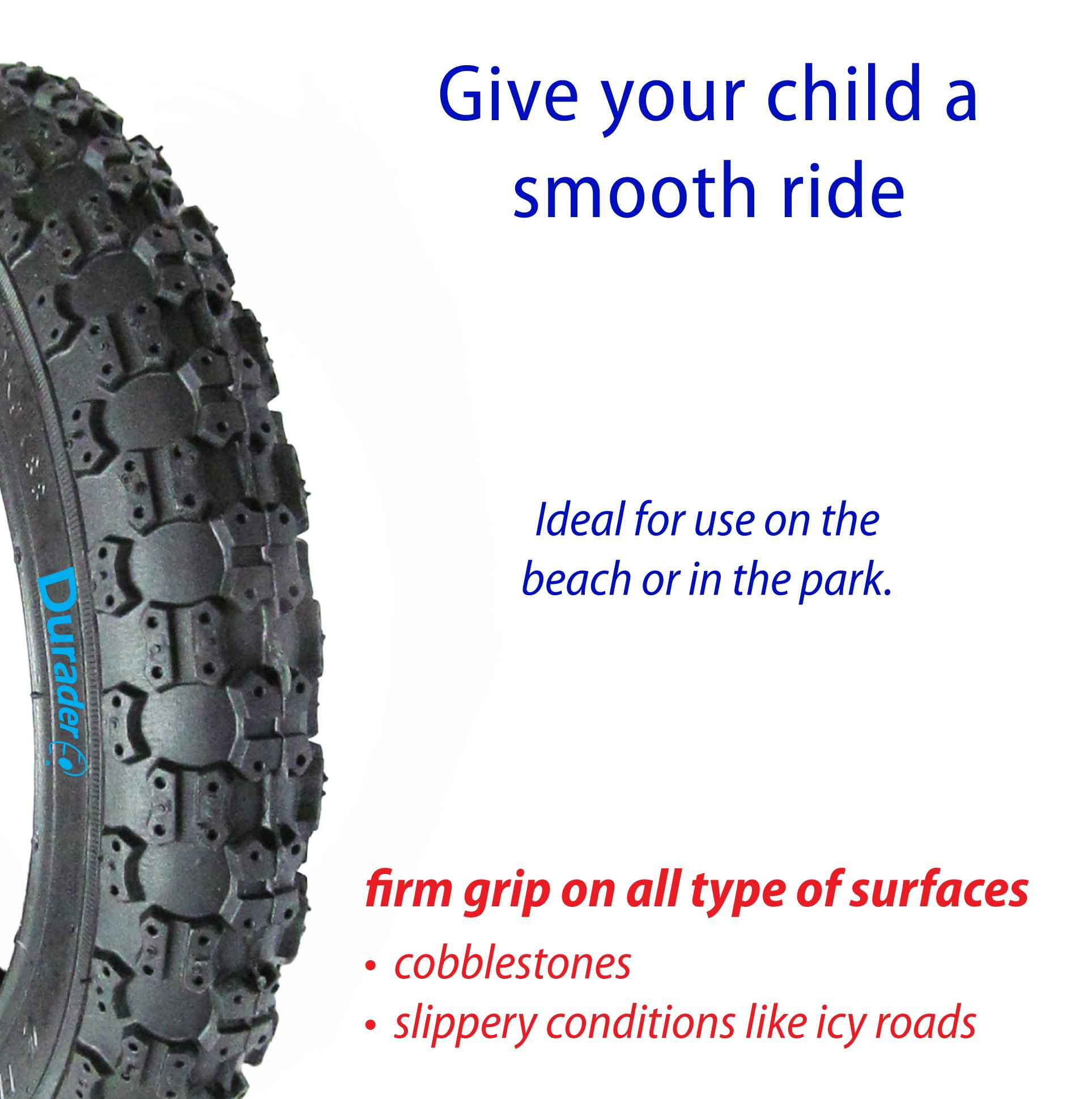 front tire & tube for Graco FastAction Jogger by Lineament (Image #4)