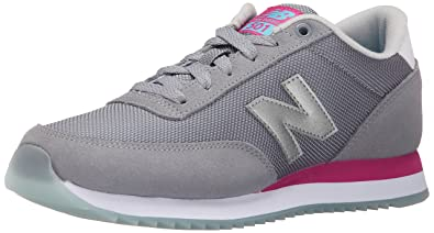 New Balance Women's WZ501 Ripple Sole Pack Classic Running Shoe, Grey/Pink,  6