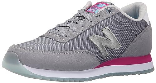 e35f371b3ed0 Amazon.com   New Balance Women s WZ501 Ripple Sole Pack-W, Grey Pink ...