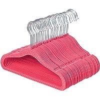AmazonBasics Kids Velvet Hangers 30-Pack