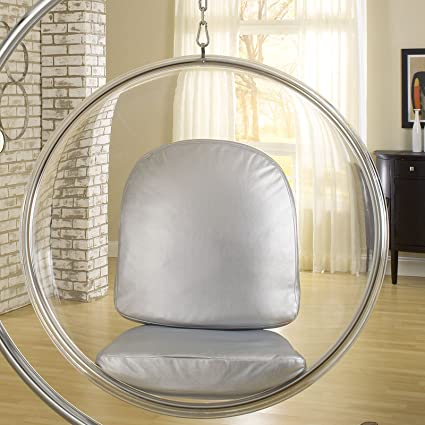 Charmant Modway EEI 111 SLV Ring Lounge Chair In Silver