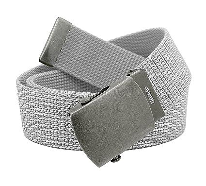 54271170723dc Amazon.com: Women's Antique Silver Slider Belt Buckle with Canvas Web Belt  Medium Glitter Silver: Arts, Crafts & Sewing