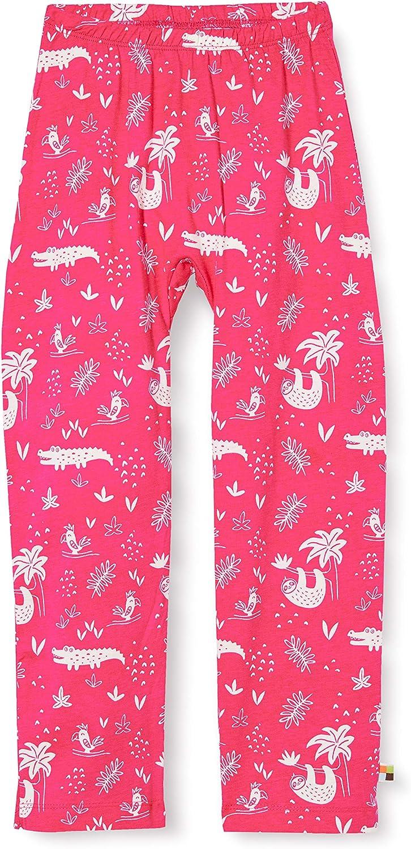Proud Pant Allover Print Organic Cotton Pantalon Fille Loud