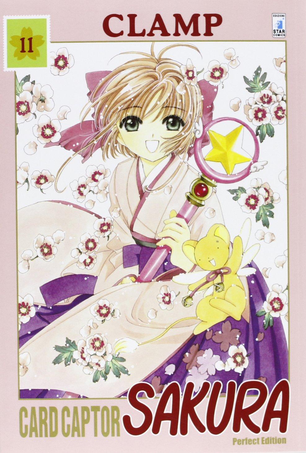 Card Captor Sakura. Perfect edition: 11 Copertina flessibile – 10 ott 2013 Clamp Yupa Star Comics 8864203125