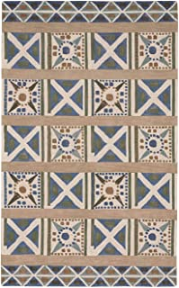 product image for Capel Clinton Grass 5' x 8' Rectangle Hand Tufted Rug