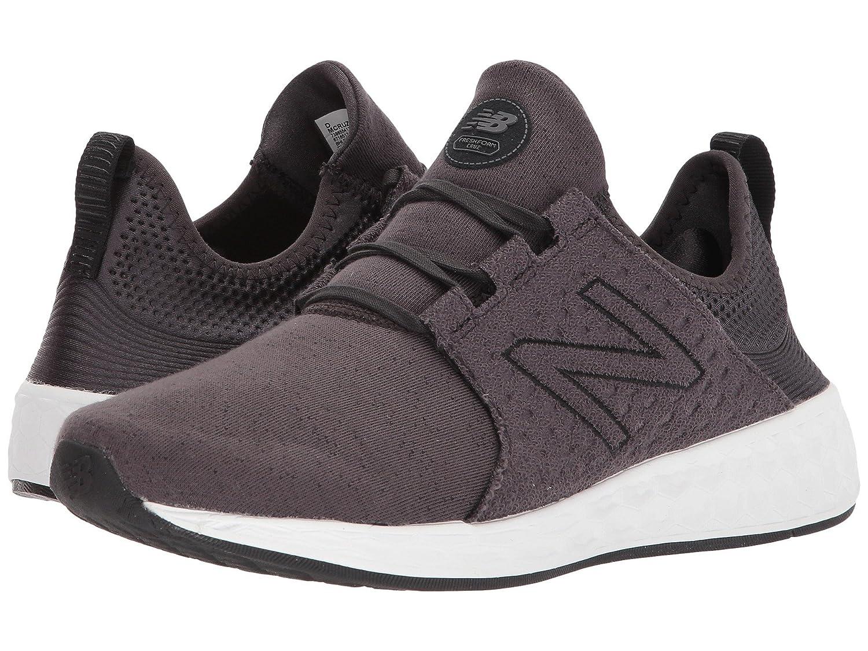 (ニューバランス) New Balance メンズランニングシューズスニーカー靴 Fresh Foam Cruz v1 Black/Phantom/White Munsell 7 (25cm) D - Medium B07BQF8PNB  - -