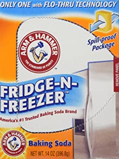 product image for Arm & Hammer baking Soda, Fridge-N-Freezer Pack, Odor absorber, 14 oz, Pack Of 6