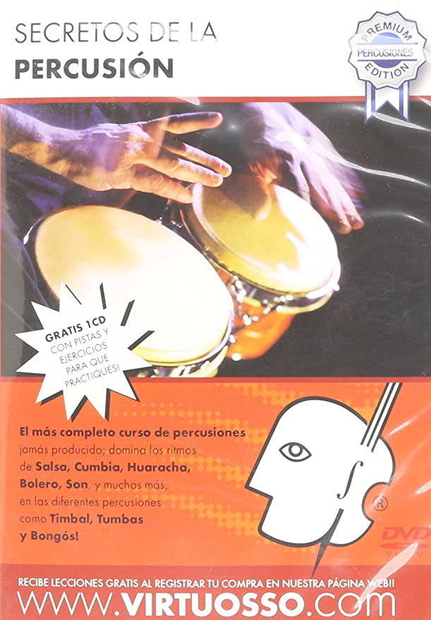 Amazon.com: Virtuosso Percussion Method (Curso De Percusiones)  SPANISH ONLY: Musical Instruments