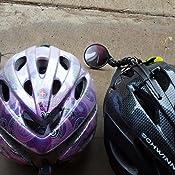 Amazon Com Evt Safe Zone Bicycle Helmet Mirror Bike