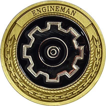 amazon com navy engineman challenge coin toys games
