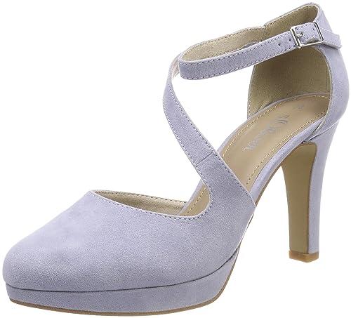 s.Oliver 24402 Scarpe con Cinturino alla Caviglia Donna Viola