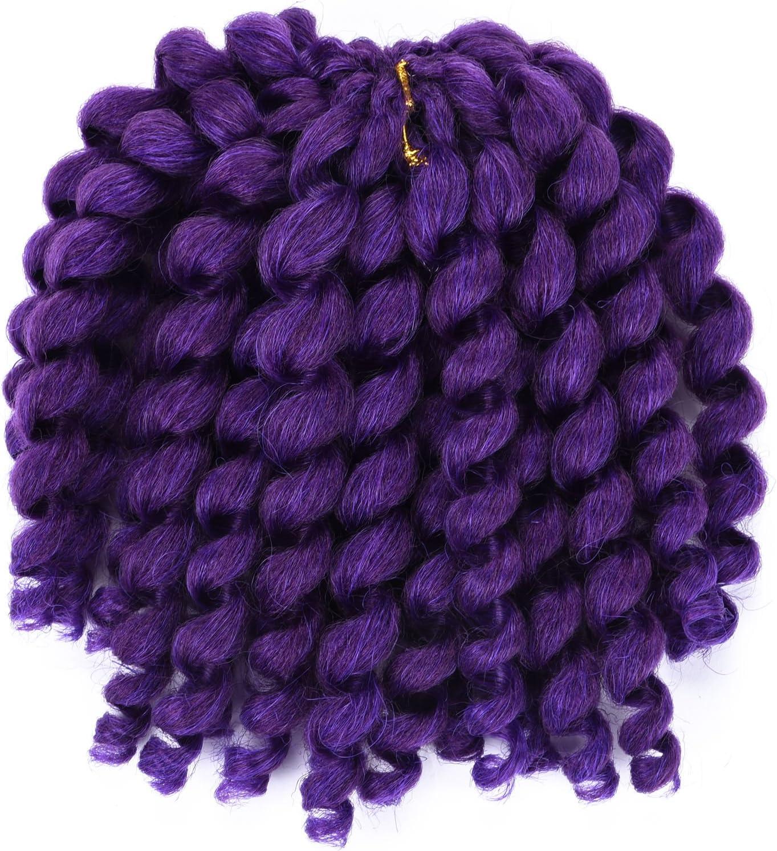 Silike - Extensión Jumpy de pelo rizado trenzado (1 unidad), pelo de ganchillo sintético jamaicano para mujer: Amazon.es: Belleza