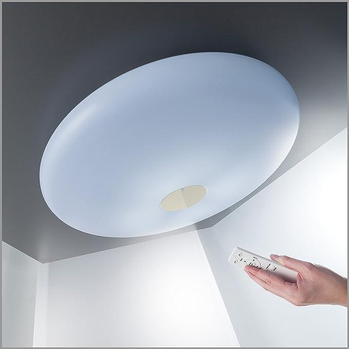 36W LED Deckenleuchte XXL Ø 60cm 3500LM Warmweiß 3000-6000K ...