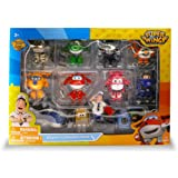 Super Wings Airport Collection Pack - Includes Jett, Paul, Donnie, Jerome, Dizzy, Mira, Bello, & Albert