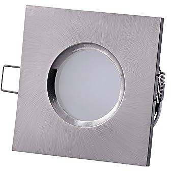 Power LED Badezimmer Einbaustrahler OUT IP65 (Spritzwassergeschützt)  230Volt   5Watt Deckenstrahler (für Bad