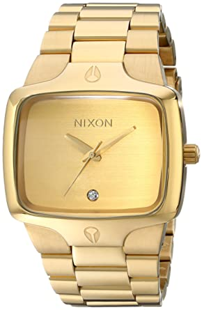 Mens Gold Nixon Watches