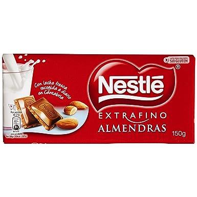 Nestlé Extrafino Chocolate con leche extrafino y almendras - 150 gr