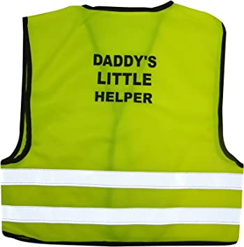 Childs High Visibility Safety Waistcoat Vest Jacket Kids Hi Vis Yellow Pink 3-14 Years