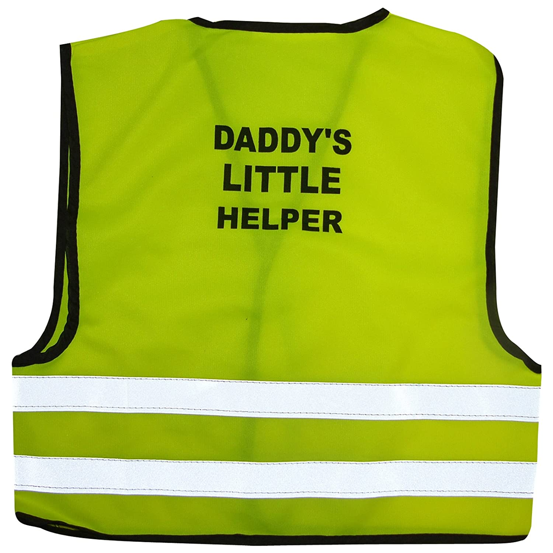 Kids High Visibility Hi Viz Safety Vest Top Hi Vis Baby Waistcoat Childrens Gift (X-LARGE (4-6 YEARS), MUMMY'S LITTLE HELPER) MUMMY' S LITTLE HELPER) EXCEPTIONAL VALUE LIMITED