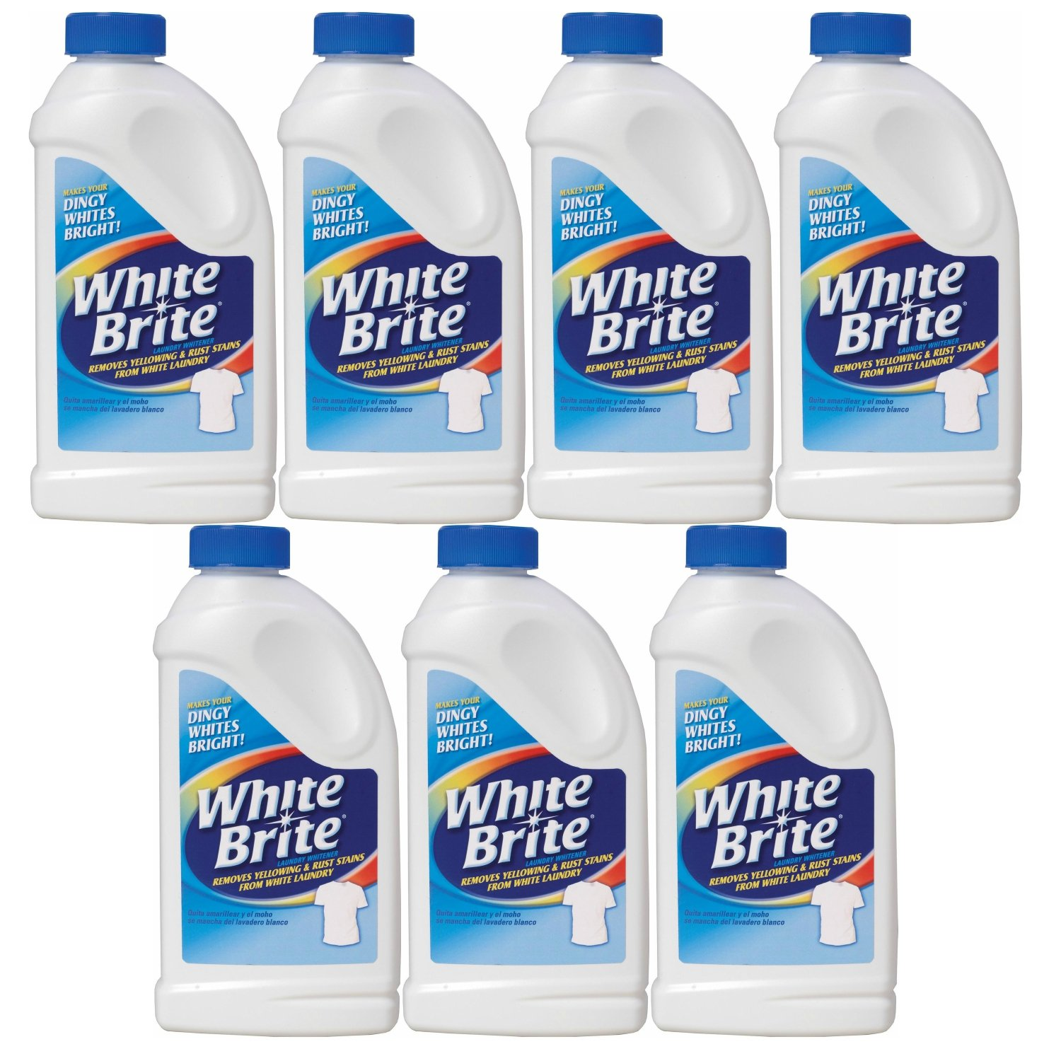 Pack of 7 - Out White Brite Laundry Whitener, 28 Ounces