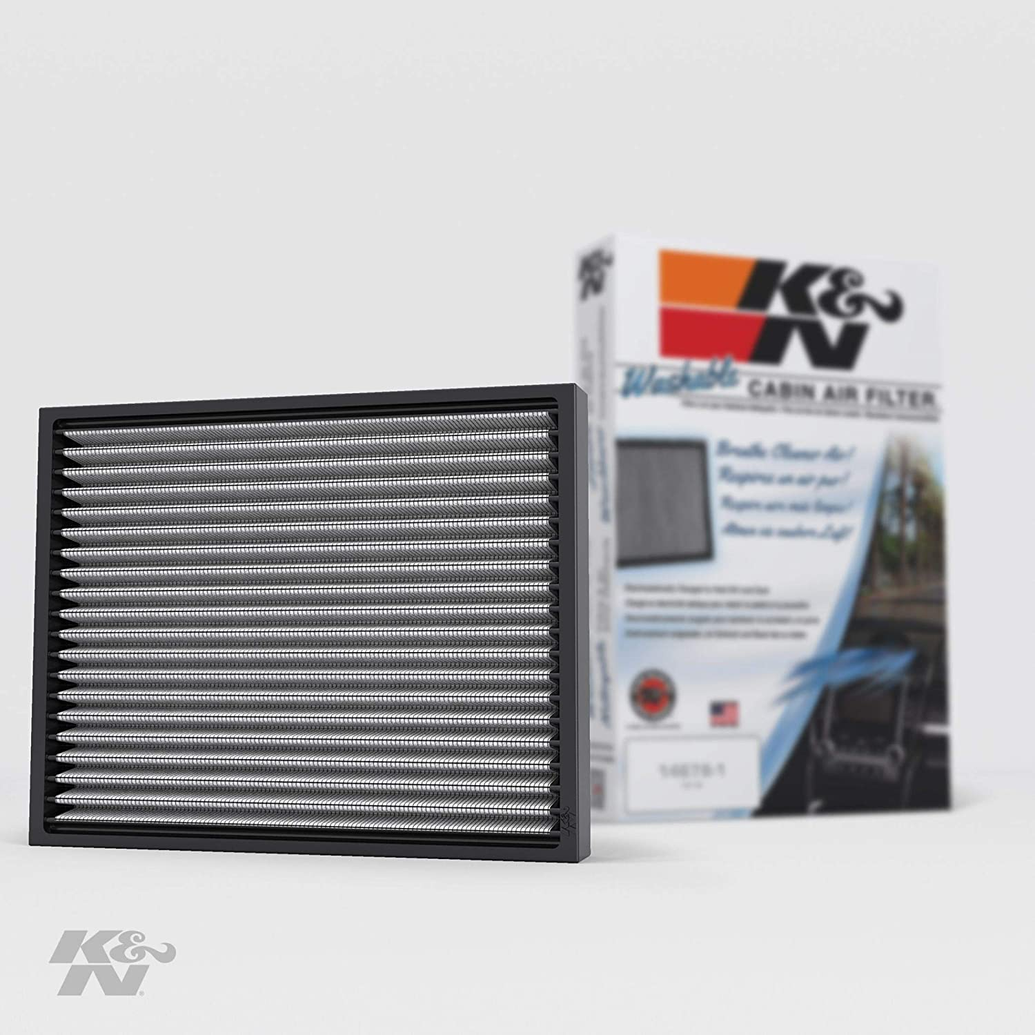 K&N Premium Cabin Air Filter: High Performance, Lasts for the Life of your Vehicle:Designed For Select 2005-2019 Toyota Tacoma, 1999-2002 Subaru Liberty, 2003-2008 Pontiac Vibe, VF2005