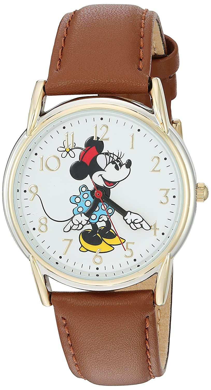 5f246662b619 Amazon.com  Disney Minnie Mouse Women s Two Tone Cardiff Alloy Watch ...
