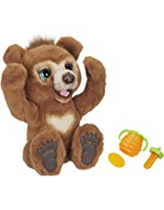 FurReal E4591EU4 Cubby, Mein Knuddelbär, interaktives Plüschtier, ab 4 Jahren, Braun