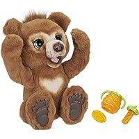 Hasbro E4591EU4 FurReal Cubby, Mein Knuddelbär, interaktives Plüschtier, ab 4 Jahren, braun