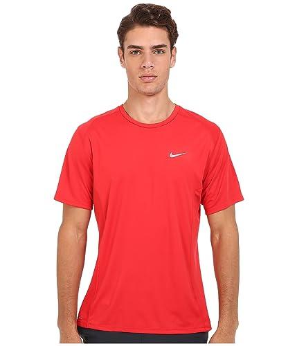 nike running shirt red