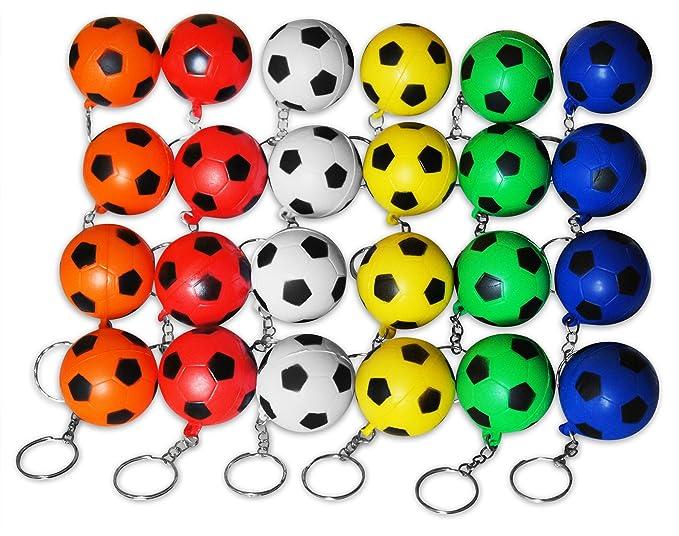 Amazon.com: Novela Merk 24 Multicolor fútbol deportes pelota ...