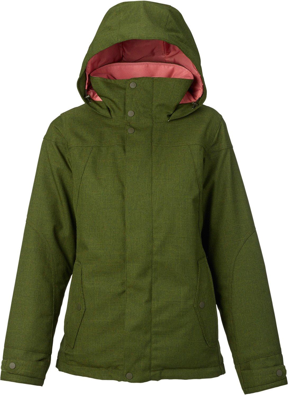 Burton Women's Jet Set Jacket, Rifle Green, Small