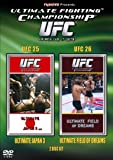 UFC Ultimate Fighting Championship 25 and 26 [DVD]
