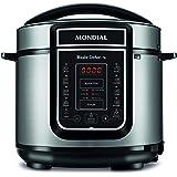 MK Mondial Eletrodomesticos Panela de Pressao Eletrica Digital Master Cooker 5L, 127V