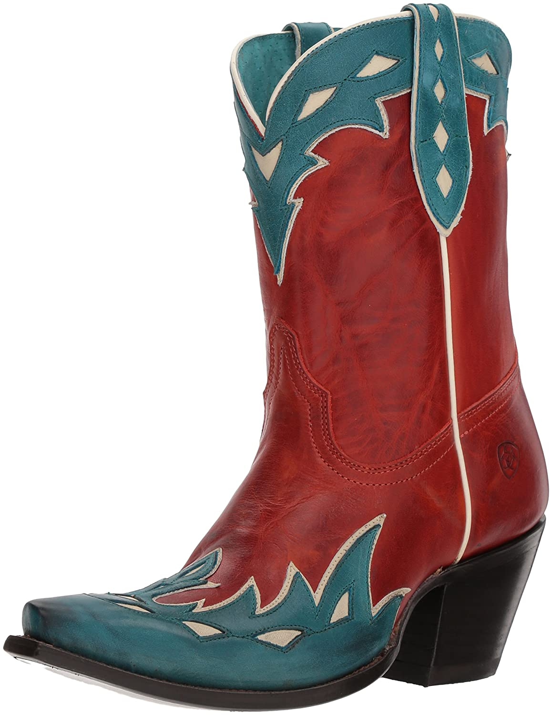 Ariat Women's Juanita Western Boot B076RQ9KB8 11 B(M) US Heart Throb Red