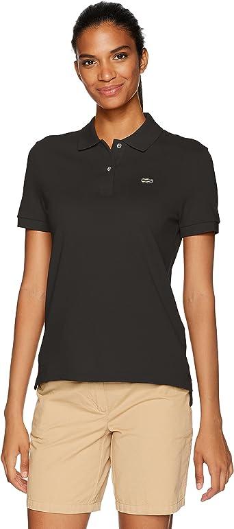 Lacoste Girls Girl Short Sleeve Mini Pique Iconic Polo Polo Shirt