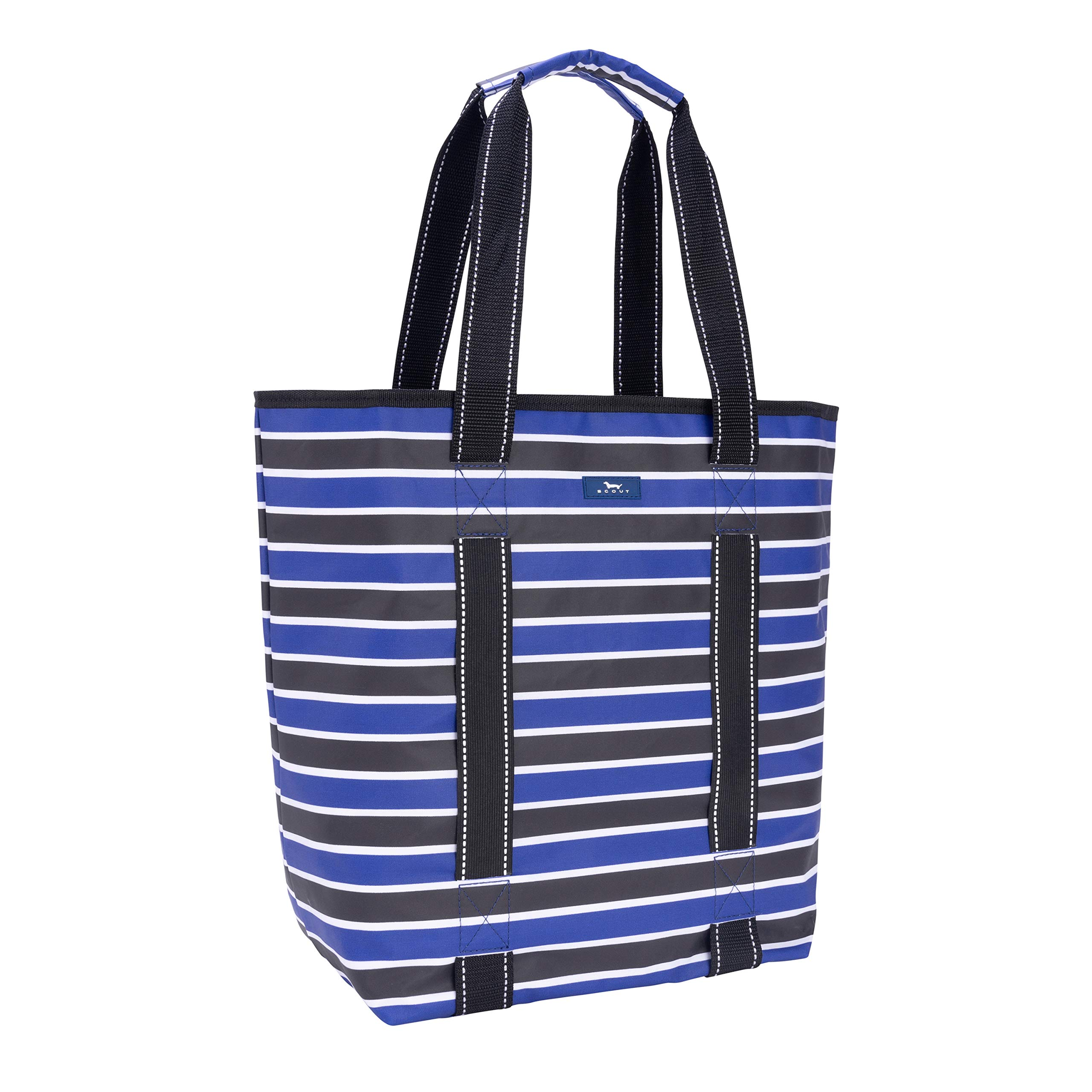SCOUT Fit Kit Gym Tote Bag, Elastic Band Fits Yoga Mat or Towel, Water Resistant, Zips Closed, Bolder and Wiser